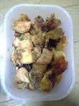 サツマイモと鶏肉の煮っ転がし